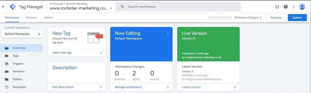 google tag manager debugging
