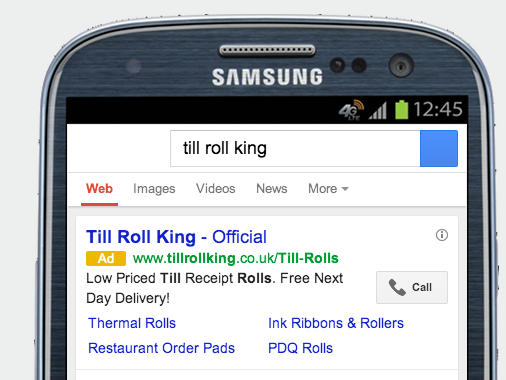 Call Google ads extensions