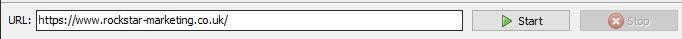 site analyzer url list