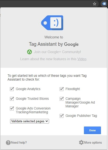 Tag Manager - Tag Assistant By Google