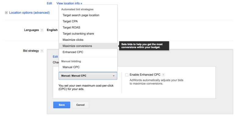 To know how to setup google ads, its important to learn bidding strategy
