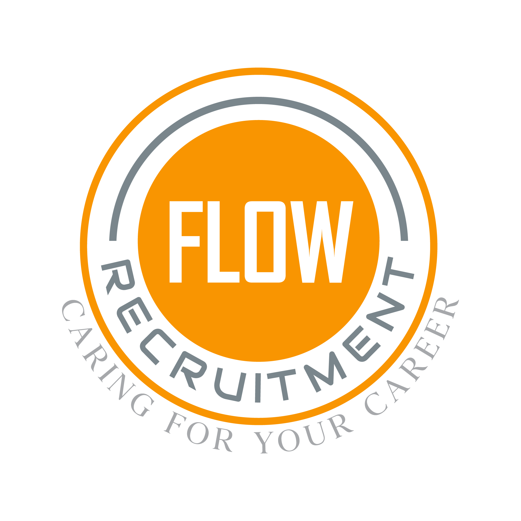 flow recruitment logo rockstar marketing