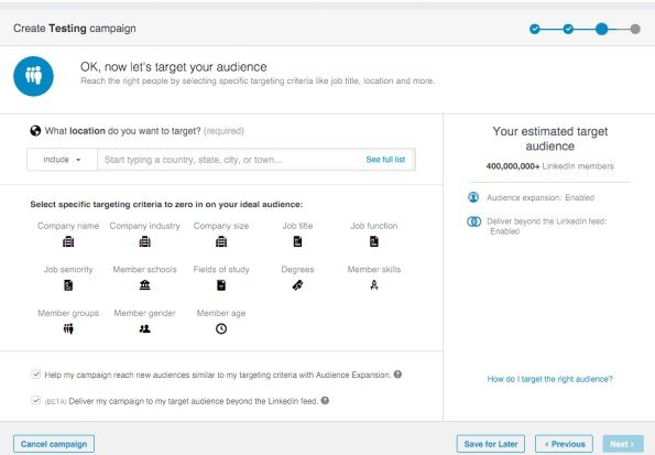 how to set up linkedin ads guide