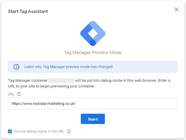 Google Smart Tag Manager Assistant